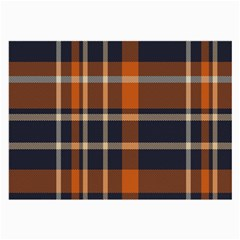Tartan Background Fabric Design Pattern Large Glasses Cloth