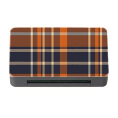 Tartan Background Fabric Design Pattern Memory Card Reader With Cf