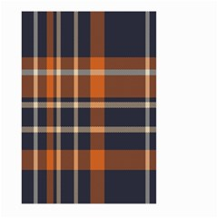 Tartan Background Fabric Design Pattern Large Garden Flag (two Sides)