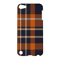 Tartan Background Fabric Design Pattern Apple iPod Touch 5 Hardshell Case