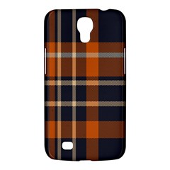 Tartan Background Fabric Design Pattern Samsung Galaxy Mega 6.3  I9200 Hardshell Case