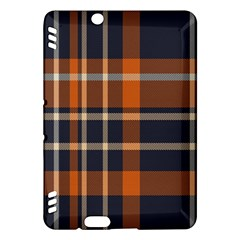 Tartan Background Fabric Design Pattern Kindle Fire HDX Hardshell Case