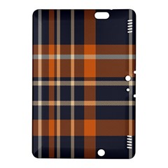 Tartan Background Fabric Design Pattern Kindle Fire HDX 8.9  Hardshell Case