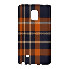 Tartan Background Fabric Design Pattern Galaxy Note Edge