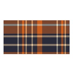 Tartan Background Fabric Design Pattern Satin Shawl
