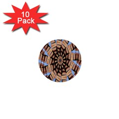 Manipulated Reality Of A Building Picture 1  Mini Buttons (10 Pack)