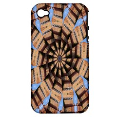 Manipulated Reality Of A Building Picture Apple iPhone 4/4S Hardshell Case (PC+Silicone)