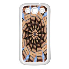 Manipulated Reality Of A Building Picture Samsung Galaxy S3 Back Case (White)