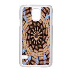Manipulated Reality Of A Building Picture Samsung Galaxy S5 Case (White)