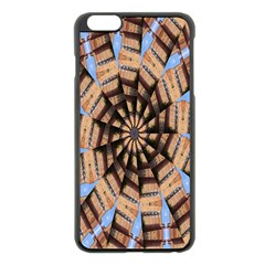 Manipulated Reality Of A Building Picture Apple iPhone 6 Plus/6S Plus Black Enamel Case