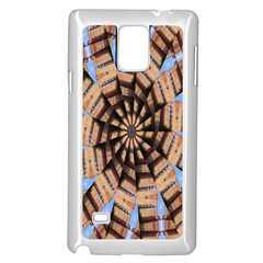 Manipulated Reality Of A Building Picture Samsung Galaxy Note 4 Case (White)