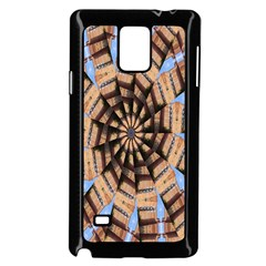 Manipulated Reality Of A Building Picture Samsung Galaxy Note 4 Case (black)