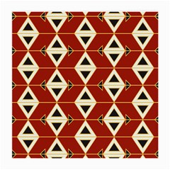 Triangle Arrow Plaid Red Medium Glasses Cloth