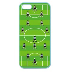 Soccer Field Football Sport Apple Seamless Iphone 5 Case (color)