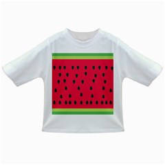 Watermelon Fan Red Green Fruit Infant/toddler T Shirts