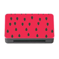 Watermelon Fan Red Green Fruit Memory Card Reader With Cf
