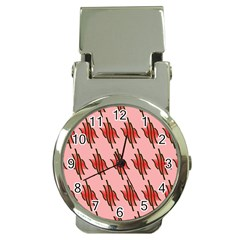 Variant Red Line Money Clip Watches