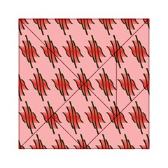 Variant Red Line Acrylic Tangram Puzzle (6  X 6 )