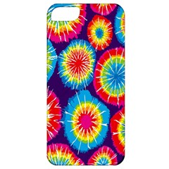 Tie Dye Circle Round Color Rainbow Red Purple Yellow Blue Pink Orange Apple Iphone 5 Classic Hardshell Case