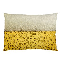Water Bubbel Foam Yellow White Drink Pillow Case