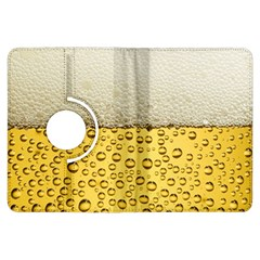 Water Bubbel Foam Yellow White Drink Kindle Fire Hdx Flip 360 Case