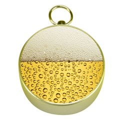 Water Bubbel Foam Yellow White Drink Gold Compasses
