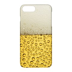 Water Bubbel Foam Yellow White Drink Apple Iphone 7 Plus Hardshell Case