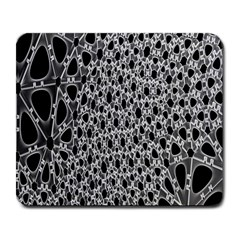 X Ray Rendering Hinges Structure Kinematics Circle Star Black Grey Large Mousepads