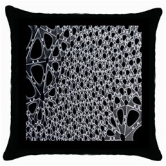 X Ray Rendering Hinges Structure Kinematics Circle Star Black Grey Throw Pillow Case (black)