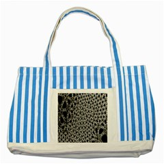 X Ray Rendering Hinges Structure Kinematics Circle Star Black Grey Striped Blue Tote Bag