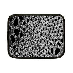 X Ray Rendering Hinges Structure Kinematics Circle Star Black Grey Netbook Case (small)