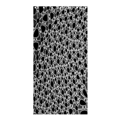 X Ray Rendering Hinges Structure Kinematics Circle Star Black Grey Shower Curtain 36  X 72  (stall)