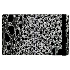 X Ray Rendering Hinges Structure Kinematics Circle Star Black Grey Apple Ipad 3/4 Flip Case