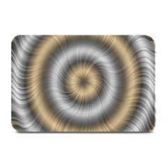 Prismatic Waves Gold Silver Plate Mats
