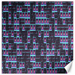 Techno Fractal Wallpaper Canvas 12  X 12