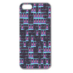 Techno Fractal Wallpaper Apple Seamless iPhone 5 Case (Clear)