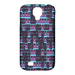 Techno Fractal Wallpaper Samsung Galaxy S4 Classic Hardshell Case (PC+Silicone)