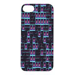 Techno Fractal Wallpaper Apple iPhone 5S/ SE Hardshell Case