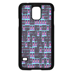 Techno Fractal Wallpaper Samsung Galaxy S5 Case (Black)