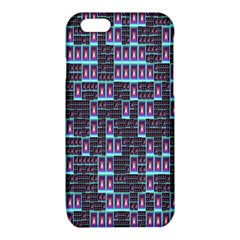 Techno Fractal Wallpaper iPhone 6/6S TPU Case