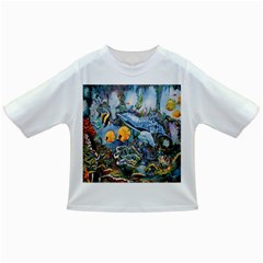 Colorful Aquatic Life Wall Mural Infant/toddler T Shirts