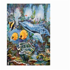 Colorful Aquatic Life Wall Mural Large Garden Flag (Two Sides)