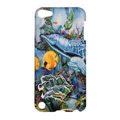 Colorful Aquatic Life Wall Mural Apple iPod Touch 5 Hardshell Case