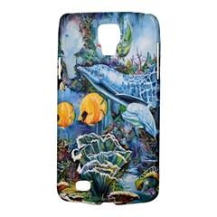 Colorful Aquatic Life Wall Mural Galaxy S4 Active