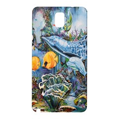 Colorful Aquatic Life Wall Mural Samsung Galaxy Note 3 N9005 Hardshell Back Case