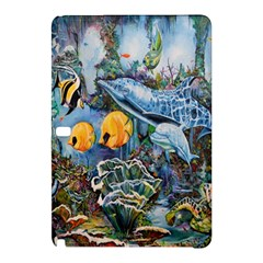 Colorful Aquatic Life Wall Mural Samsung Galaxy Tab Pro 12.2 Hardshell Case