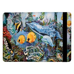 Colorful Aquatic Life Wall Mural Samsung Galaxy Tab Pro 12.2  Flip Case