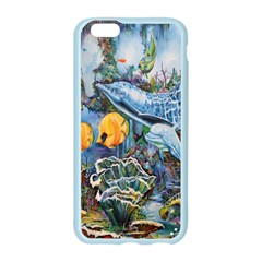 Colorful Aquatic Life Wall Mural Apple Seamless iPhone 6/6S Case (Color)