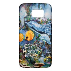 Colorful Aquatic Life Wall Mural Galaxy S6