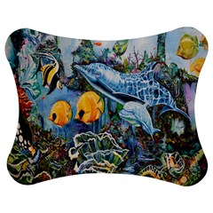 Colorful Aquatic Life Wall Mural Jigsaw Puzzle Photo Stand (Bow)
